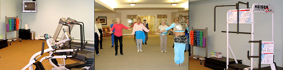 Touchmark at Wedgewood is an active retirement community and ...